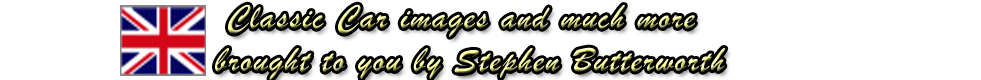 Top page logo of Stephen Butterworth, Classic car photography